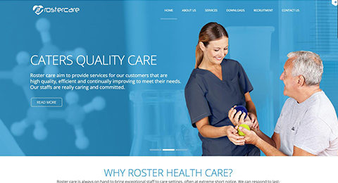 rosterhealthcare.co.uk