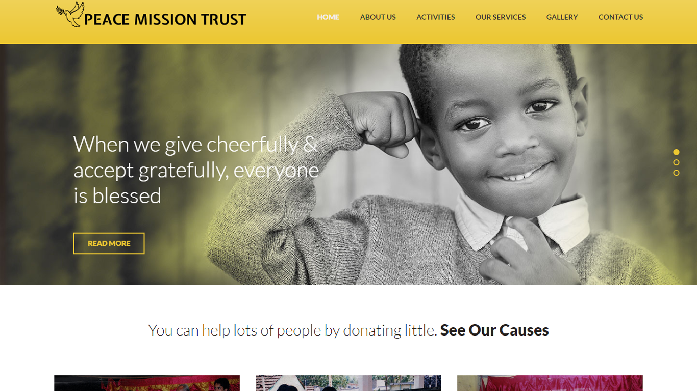 peacemissiontrust.com